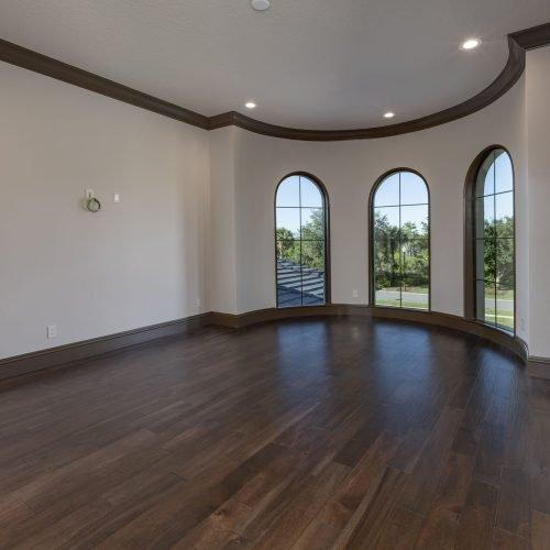 interior of custom home in Orlando area