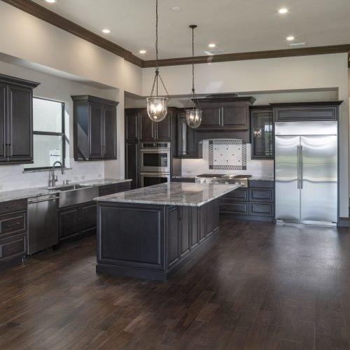 kitchen design by Beck Custom Homes