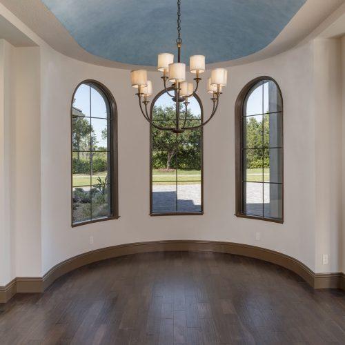 interior of Beck custom home in Orlando area