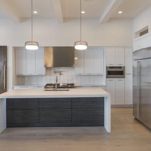 elegant kitchen interior of custom home by Beck Custom Homes