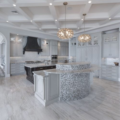 beautiful kitchen area designed and built by Beck Custom Homes