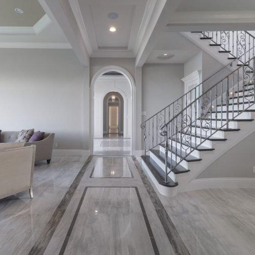 interior of new custom home by Beck Custom Homes