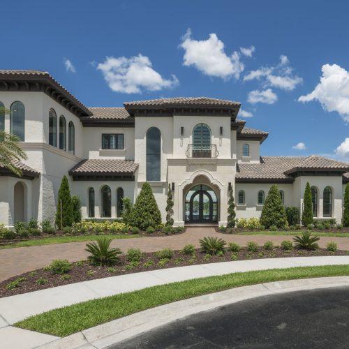 new custom home in Orlando area