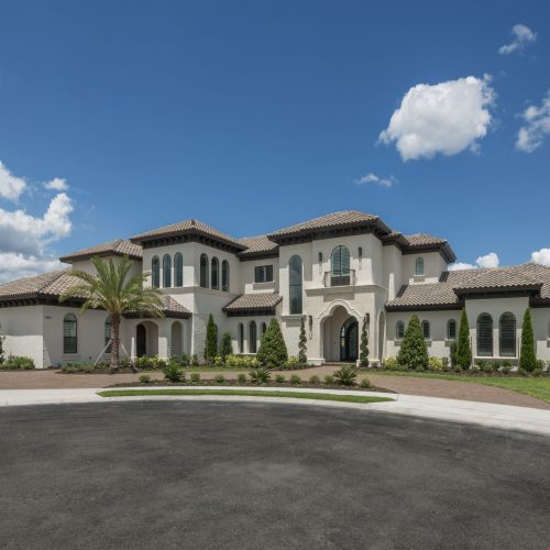 exterior of beautiful home by Beck Custom Homes