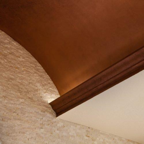 ornate ceiling details by Beck Custom Homes