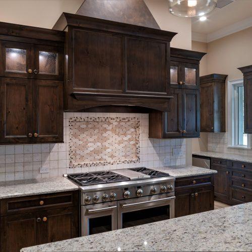 custom kitchen design by Beck Custom Homes in Florida