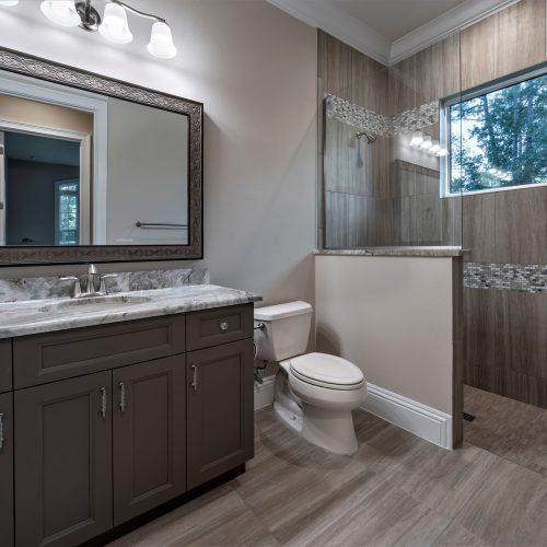 custom bath design by Beck Custom Homes